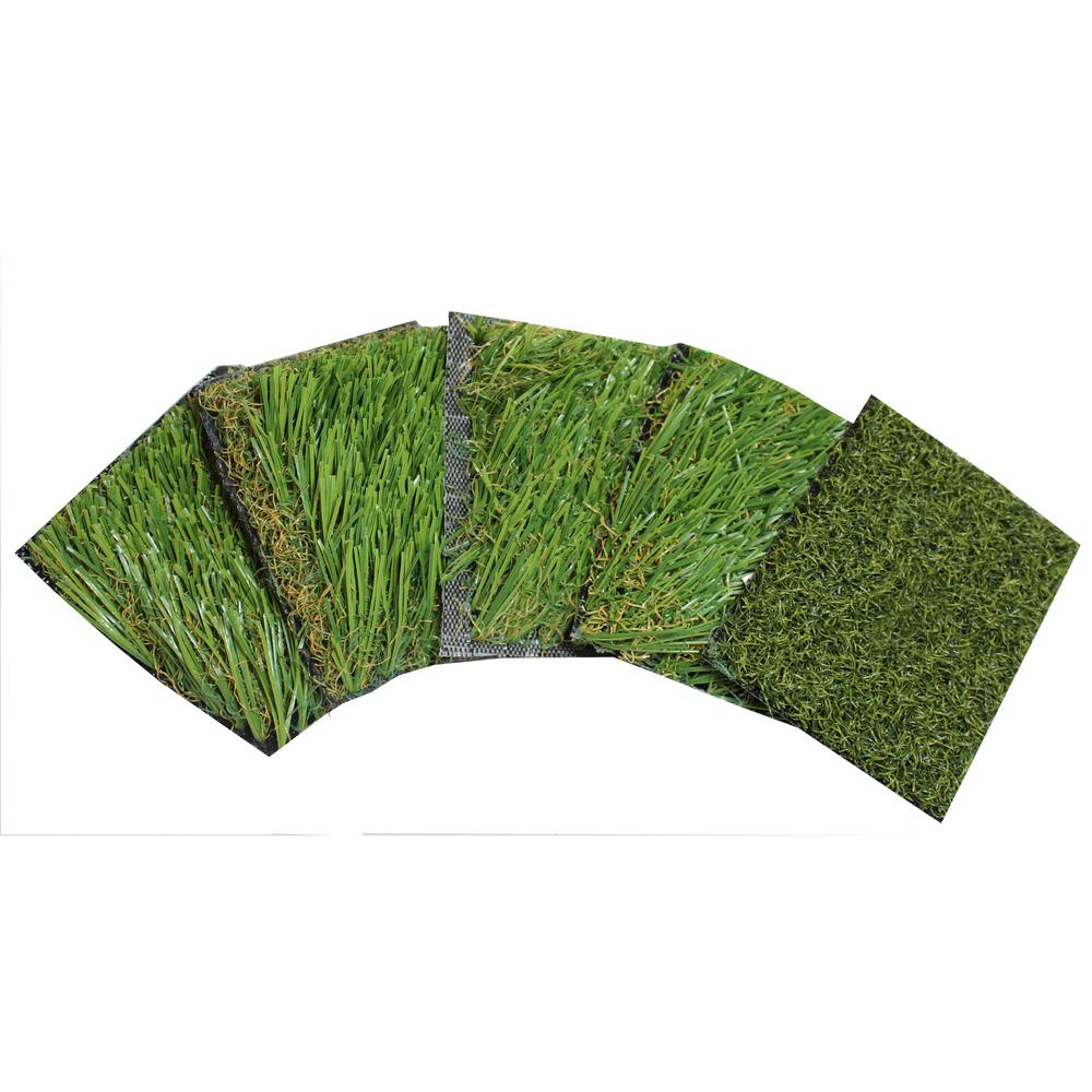 RealGrass Artificial Synthetic Grass Kit for Standard, Rye, Premium, Deluxe and Golf 3.5 in. x 4.5 in. Samples Only