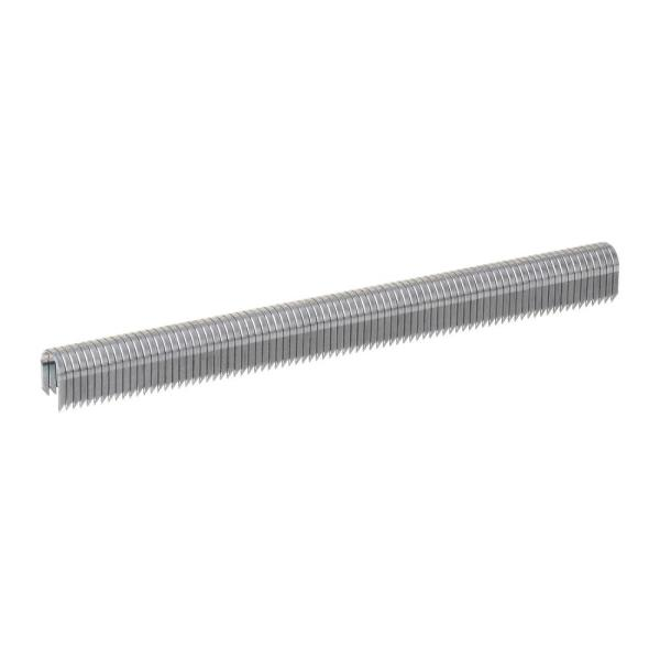 T-25 1/4 in. x 3/8 in. Gray Galvanized 20-Gauge Steel Staples for Category 5 and Telephone Wiring (1,100-Pack)