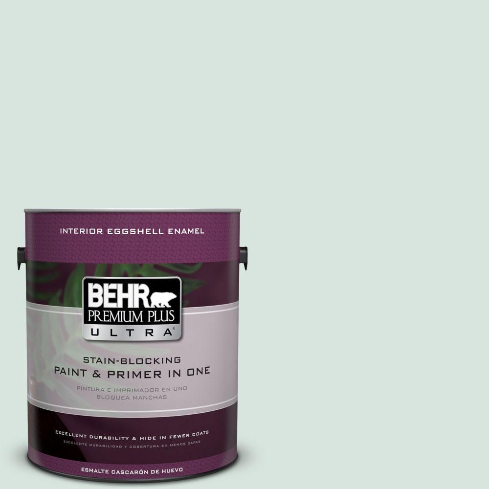 BEHR Premium Plus Ultra 1-gal. #S420-1 New Day Eggshell Enamel Interior Paint