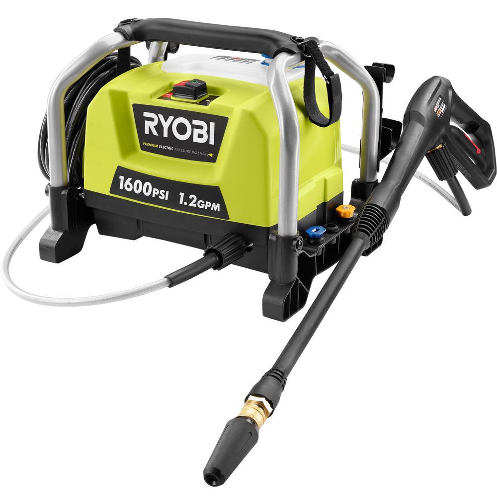 Ryobi 1600-PSI 1.2-GPM Electric Pressure Washer