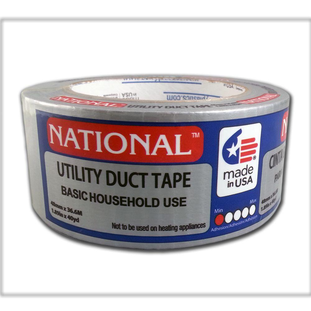 NATIONAL 1.89 in. x 40 yd. Utility Grade Duct Tape - Silver