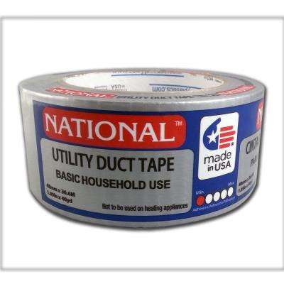 1.89 in. x 40 yd. Utility Grade Duct Tape - Silver