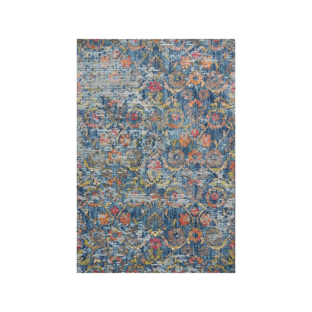 Kas Rugs Dreamweaver 5858 Blue Delaney 8 ft. x 11 ft. Area Rug This Kas Rugs 8 ft. x 11 ft. Area Rug will be a decorative addition to your home. This rectangular rug has stain-resistant fabrics and features fade-resistant materials. It has an oriental print for a crafted piece that never goes out of style. Designed with blue elements, it will add a cool touch to any room. With a 100% polypropylene design, this rug will make for an incredibly long-lasting option in any house.