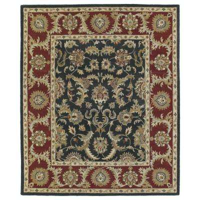 Solomon King David Graphite 2 ft. x 3 ft. Area Rug