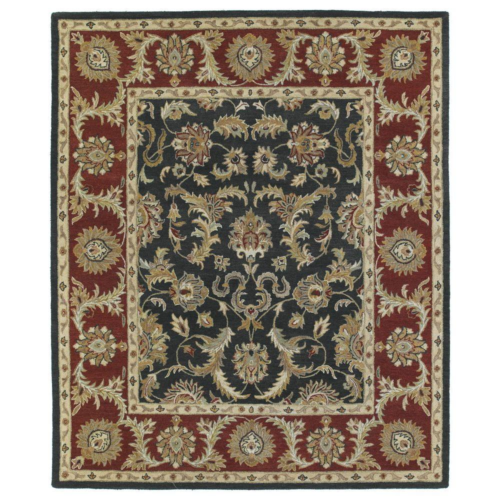Kaleen Solomon King David Graphite 4 ft. x 6 ft. Area Rug