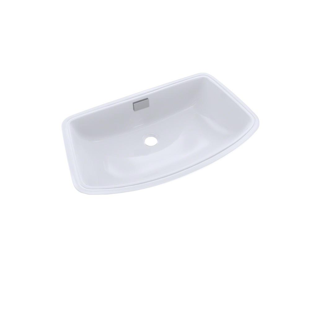 Toto Soiree 25 In Undermount Bathroom Sink In Cotton