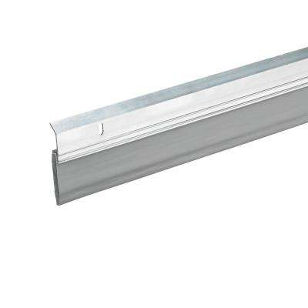 E/O 2-3/8 in. x 36 in. Silver Ex-Heavy-Duty Door Sweep