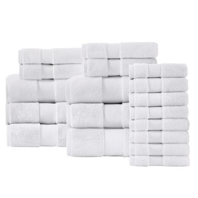 Plush Soft Cotton 18-Piece Towel Set