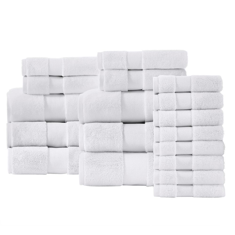 Home Decorators Collection Plush Soft Cotton 18-Piece Towel Set (Several Colors)