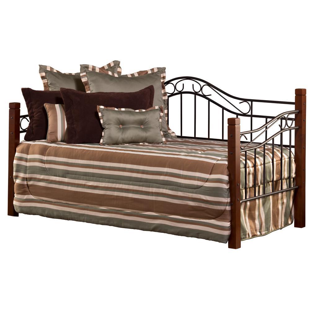 Hillsdale Furniture Matson Cherry/Black Daybed with Suspensions Deck 1159DBLH