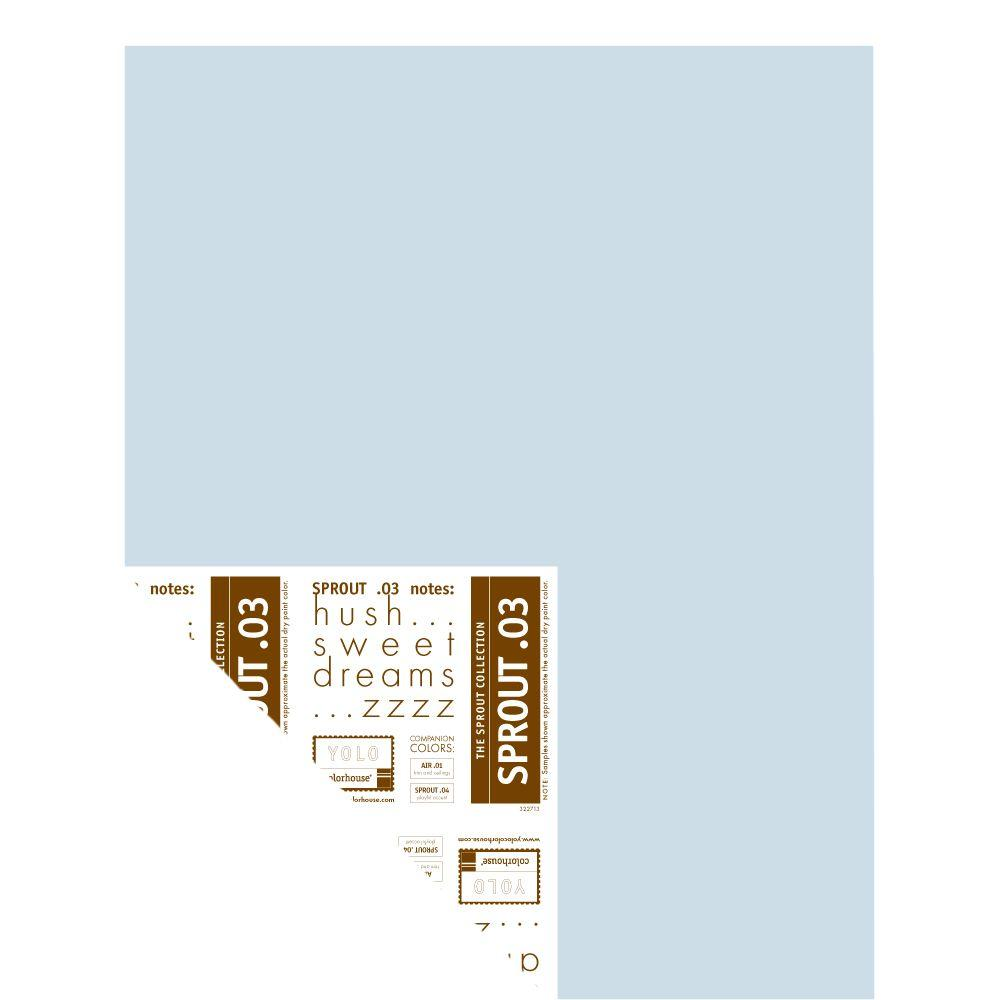 YOLO Colorhouse 12 in. x 16 in. Sprout .03 Pre-Painted Big Chip Sample
