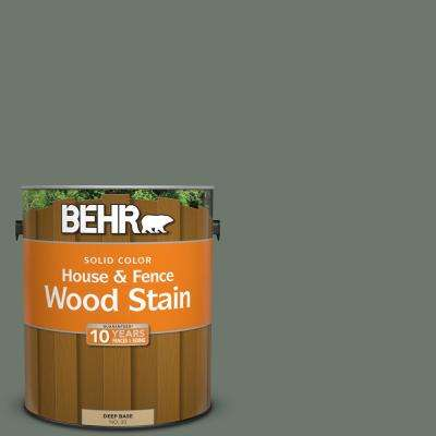 1 gal. #T17-13 In the Woods Solid Color House and Fence Exterior Wood Stain