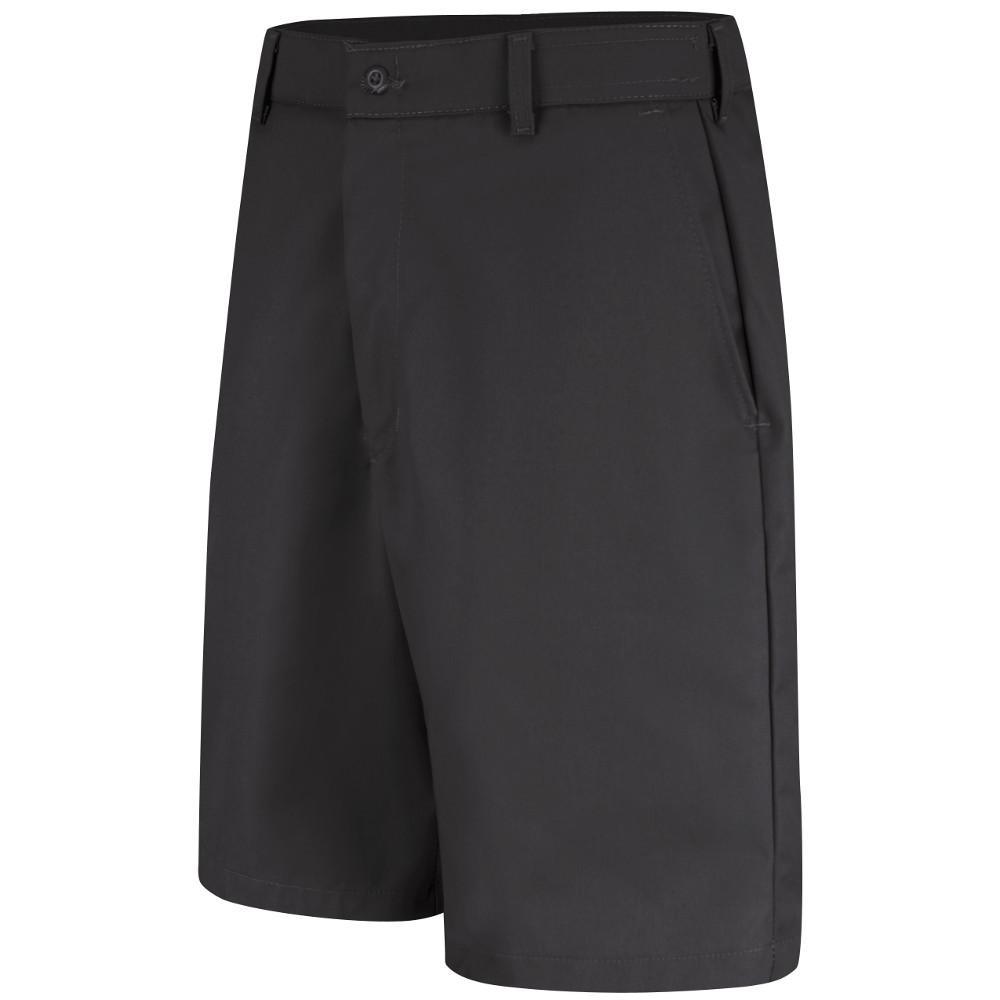 Men's Size 30 in. x 12 in. Black Cell Phone Pocket Short