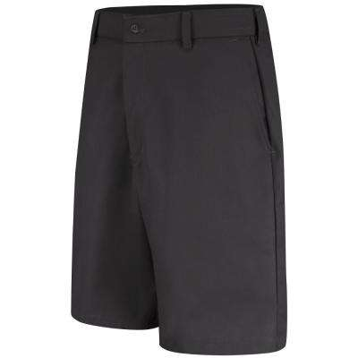 Men's Size 32 in. x 12 in. Black Cell Phone Pocket Short