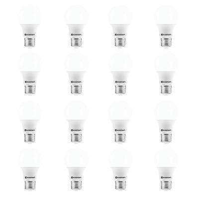 40-Watt Equivalent A19 Non-Dimmable CEC LED Light Bulb Soft White (16-Pack)