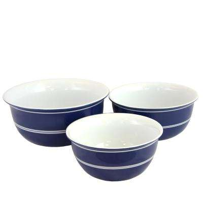 Bistro Edge 3-Piece Bowl Set