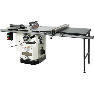 10 in. 3 HP Cabinet Table Saw with Riving Knife and Long Rails