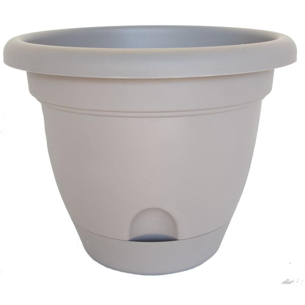 Bloem 10 in. Plastic Maximal Lucca Planter