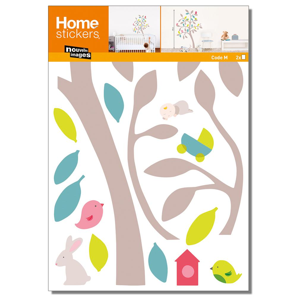 Nouvelles Images Multicolor Springkids Wall Decals Home Sticker