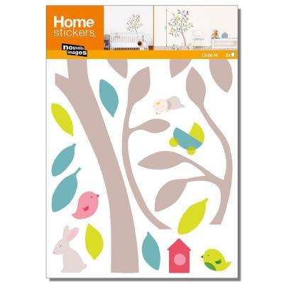Multicolor Spring/Kids Wall Decals Home Sticker