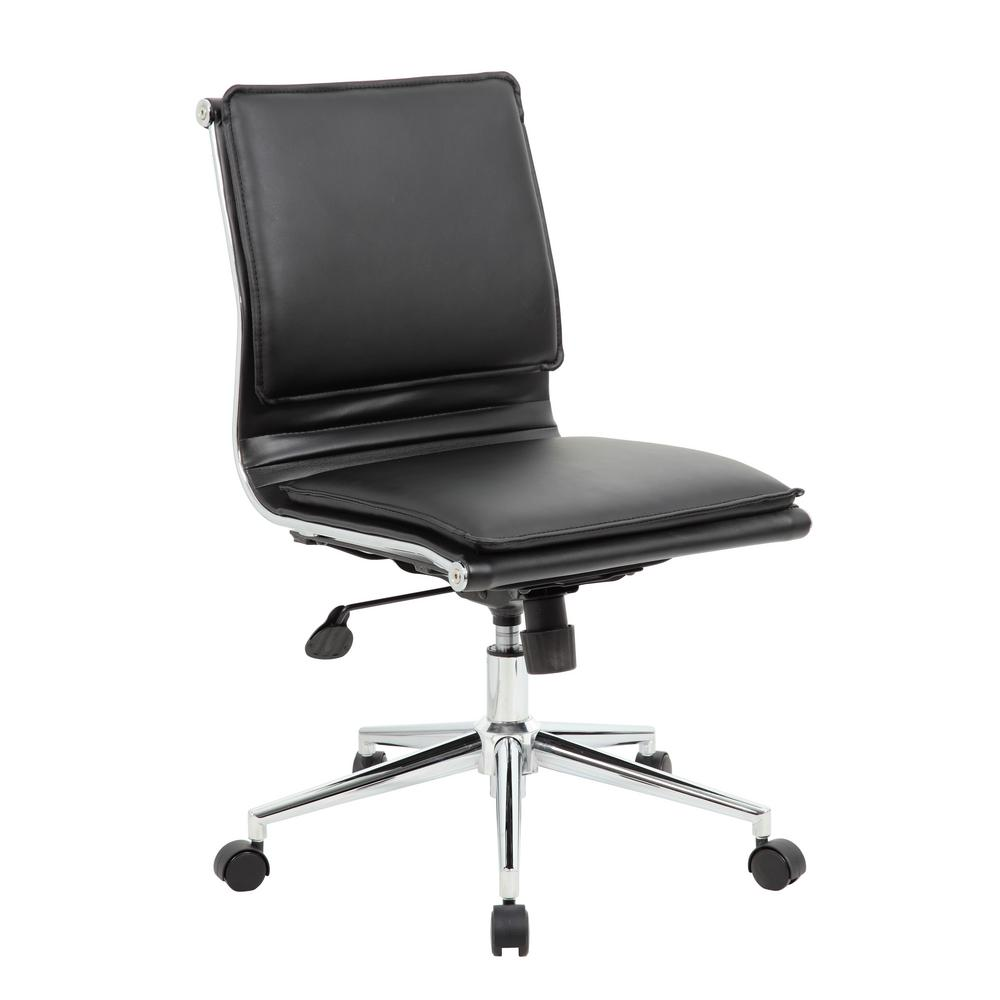 new concept ec211 cbf5d Black Elegant Design Task Chair