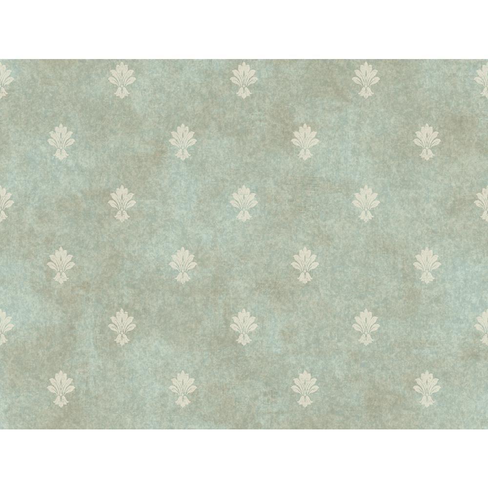 York Wallcoverings Mini Fleur D'Lis Wallpaper CR2732