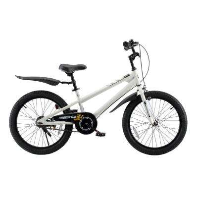 BMX Freestyle Boy's and Girl's Bike 20 in. wheels in White