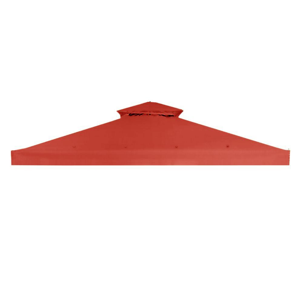 RipLock 350 Terra Cotta Replacement Canopy for 10 ft. x 10 ft. Arrow Gazebo