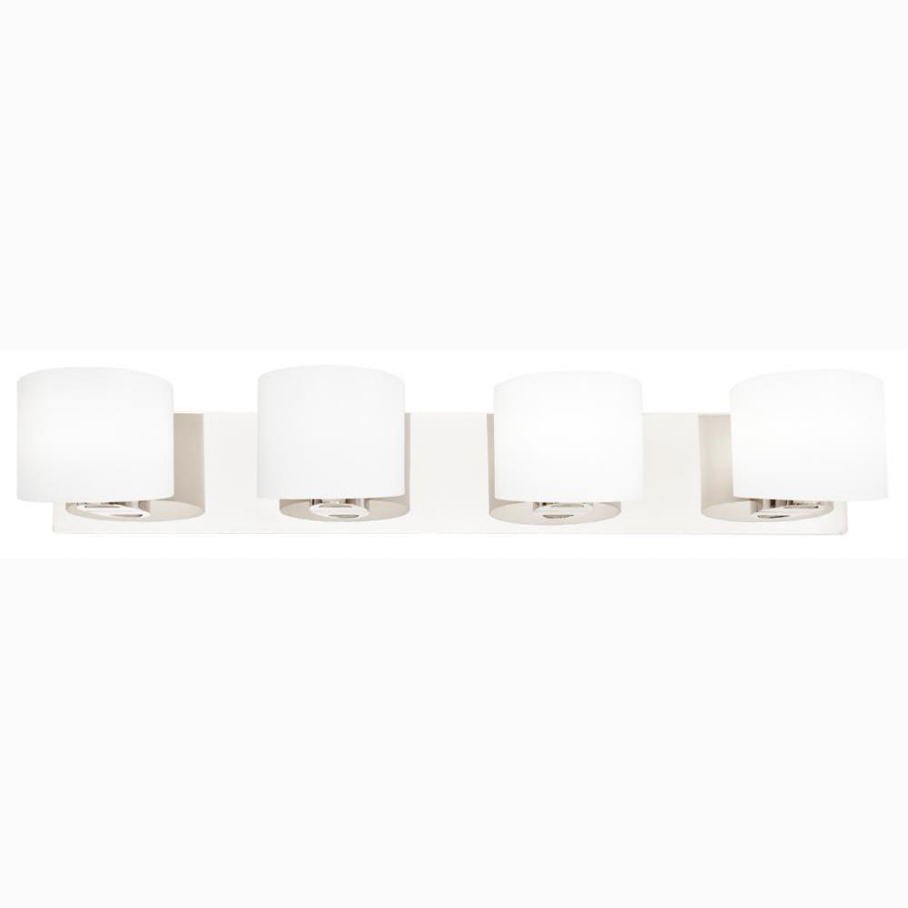 Filament Design Alondra 4-Light Chrome Bath Light