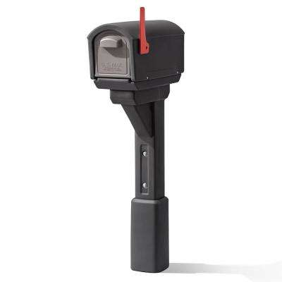 MailMaster Express Post Mount Mailbox - Black