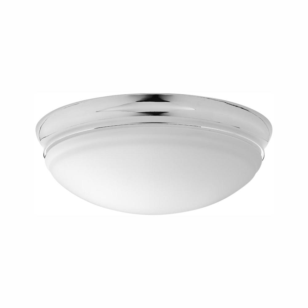 Progress Lighting Led Flush Mount Collection 17 Watt Polished Chrome Integrated