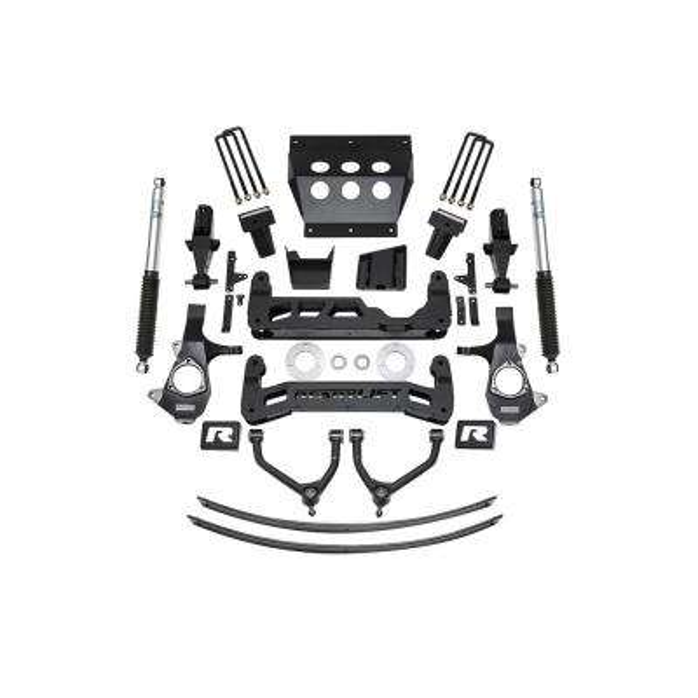 14-18 Chevrolet 1500 9in Lift Kit for Alum Upper Control Arm w/Shocks