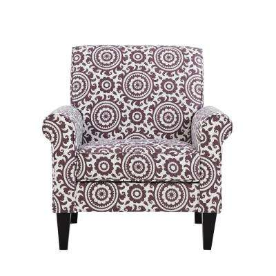 Modern - Purple - Fabric - Chairs - Living Room Furniture - The Home ...