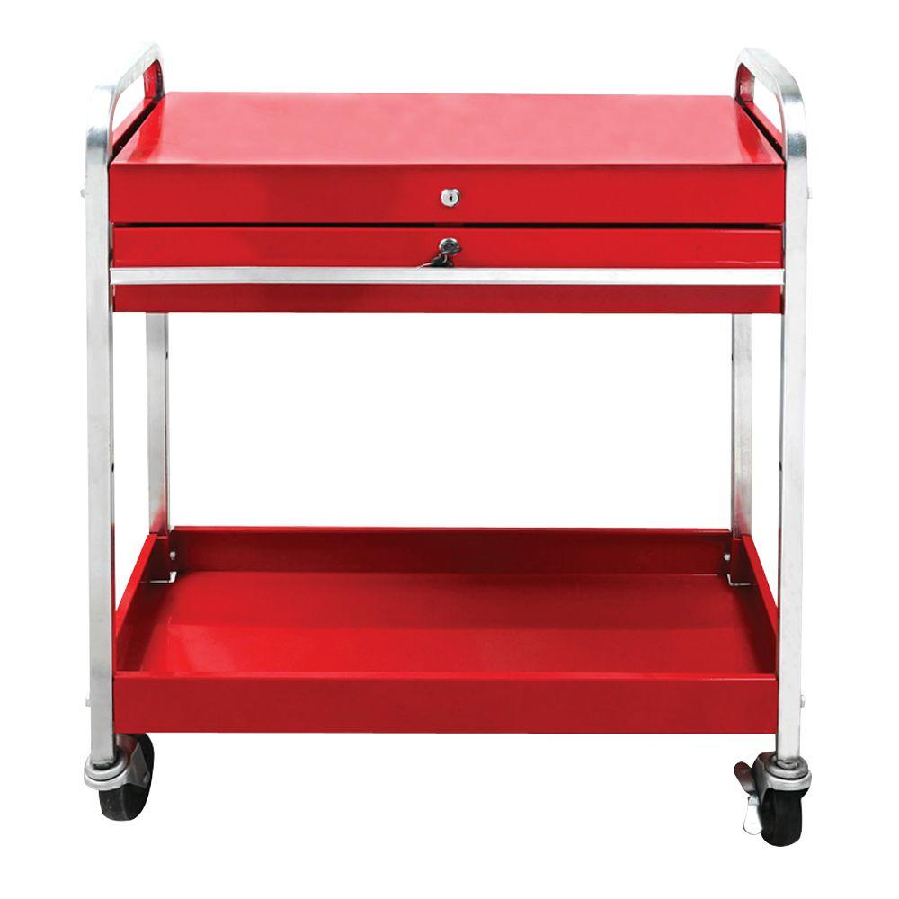 Great Neck Saw Service Cart with Locking Top