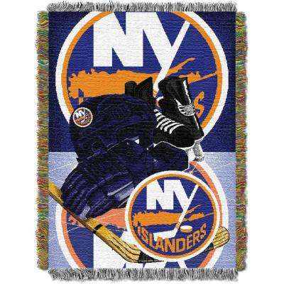 Islanders Multi Color HIA Tapestry Throw