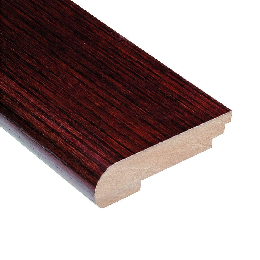 High Gloss Teak Cherry 3/4 in. Thick x 3-1/2 in. Wide