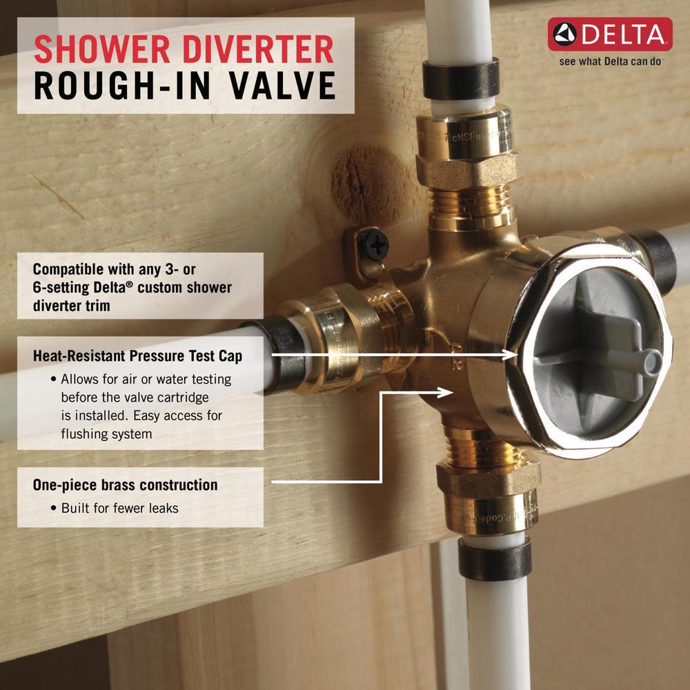 Delta Tub Shower Diverter Rough In Kit
