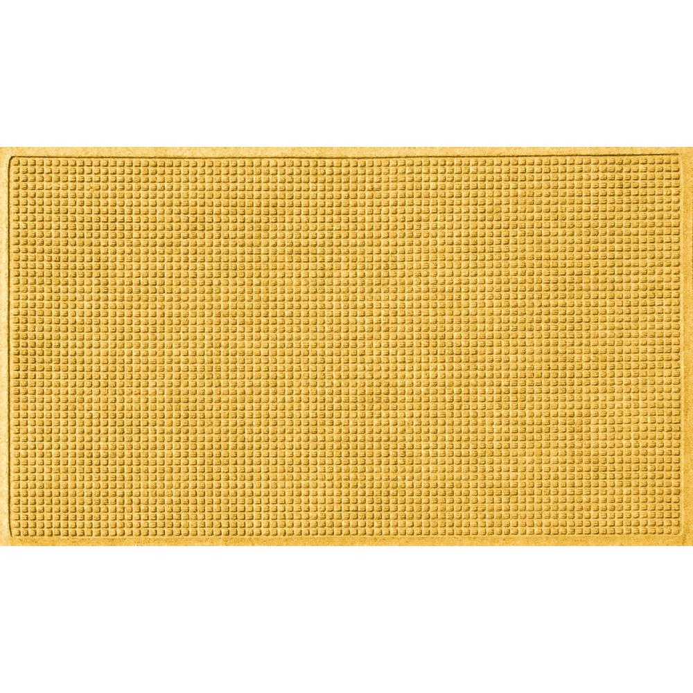 Yellow Kitchen Mats: Aqua Shield Yellow 36 In. X 60 In. Squares Polypropylene