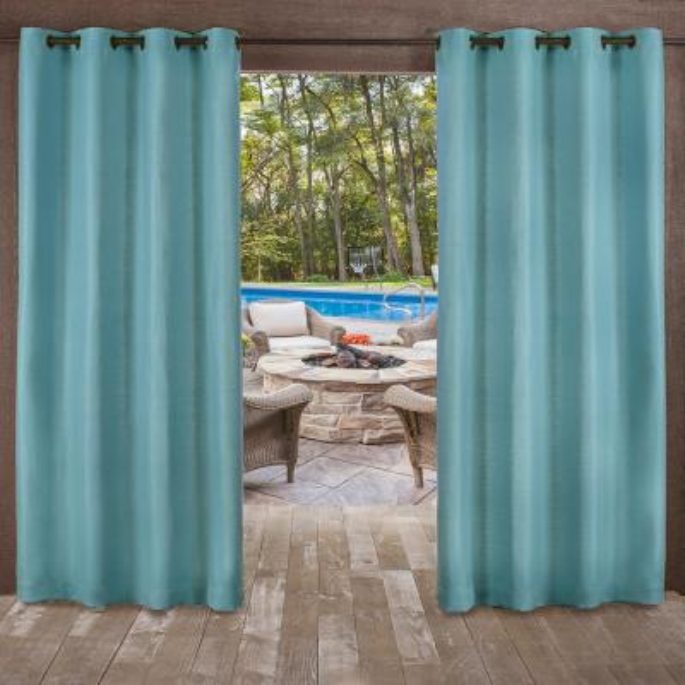 Teal Curtains Window Treatments