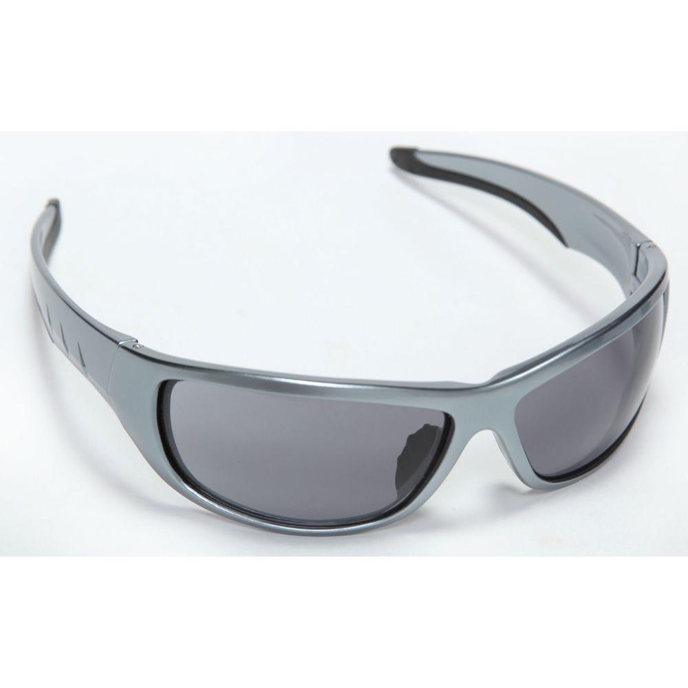 Cordova Aggressor Safety Glasses With Gun Metal Nylon Frame Gray Lens