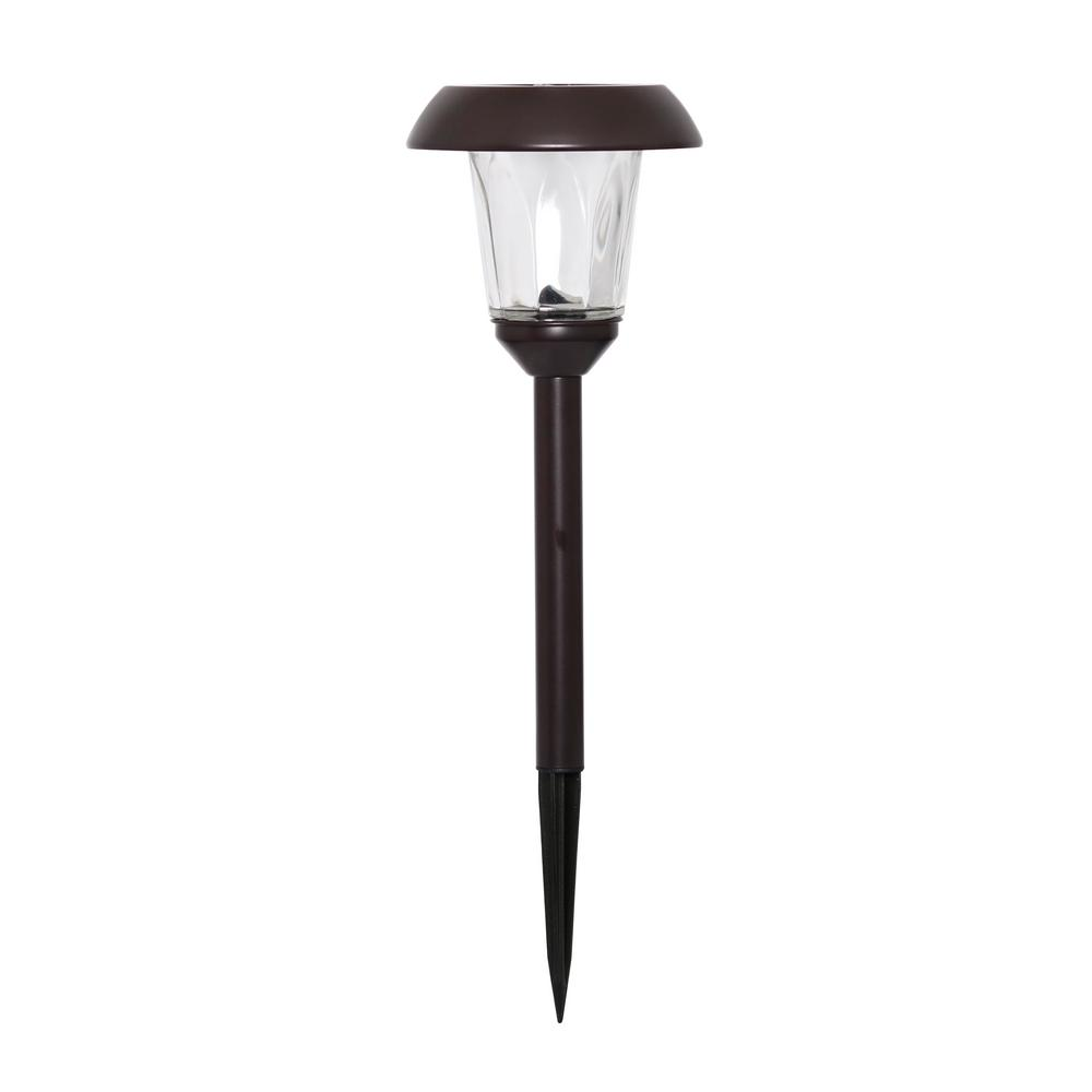 Westinghouse walkway path lights landscape lighting the home solar bronze outdoor integrated led landscape path light 4 pack aloadofball Gallery