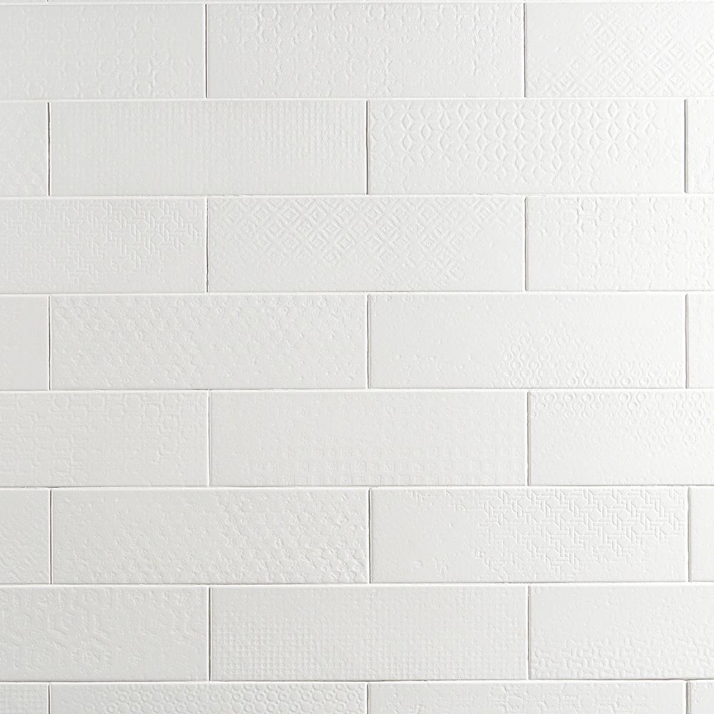White Subway Porcelain Tile