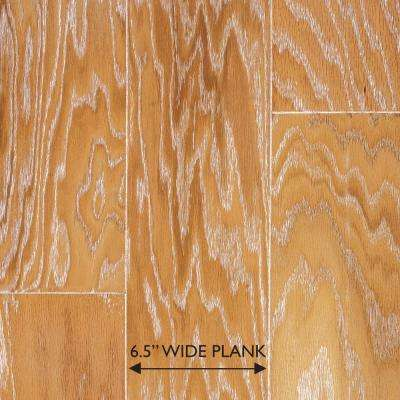 Brushed Oak Canvas 3/8 in. Thick x 6-1/2 in. Wide x Random Length Engineered Hardwood Flooring (33.3 sq. ft. / case)