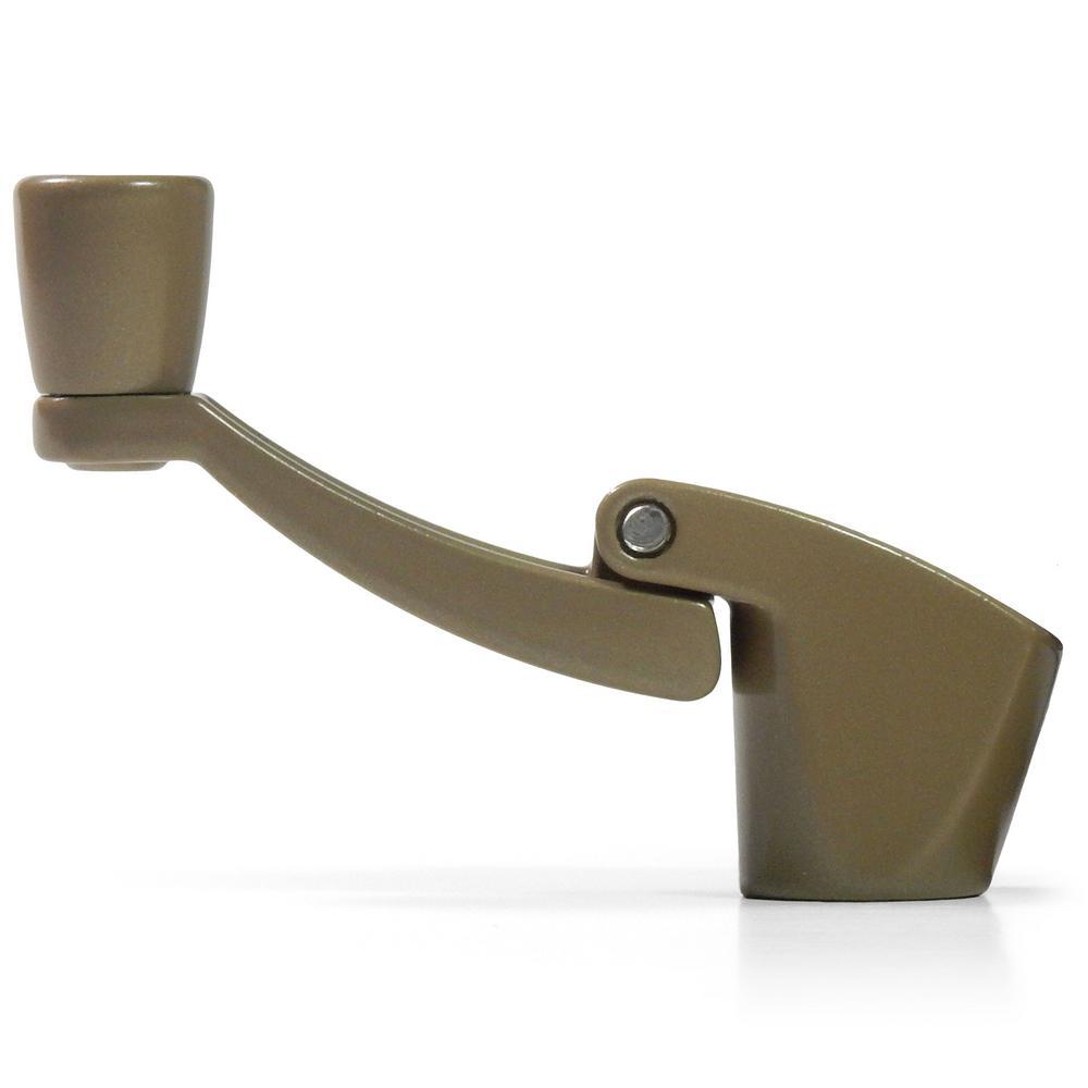 Fold Away Window Crank Handles in Bronze