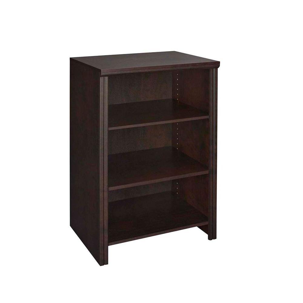 ClosetMaid Impressions 41.1 in. H x 25.12 in. W x 19.65 in. D Deluxe 4-Shelf Organizer in Chocolate