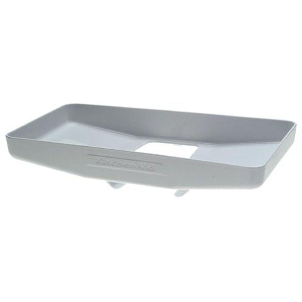 Kitchenaid White Food Grinder And Food Tray Attachment For