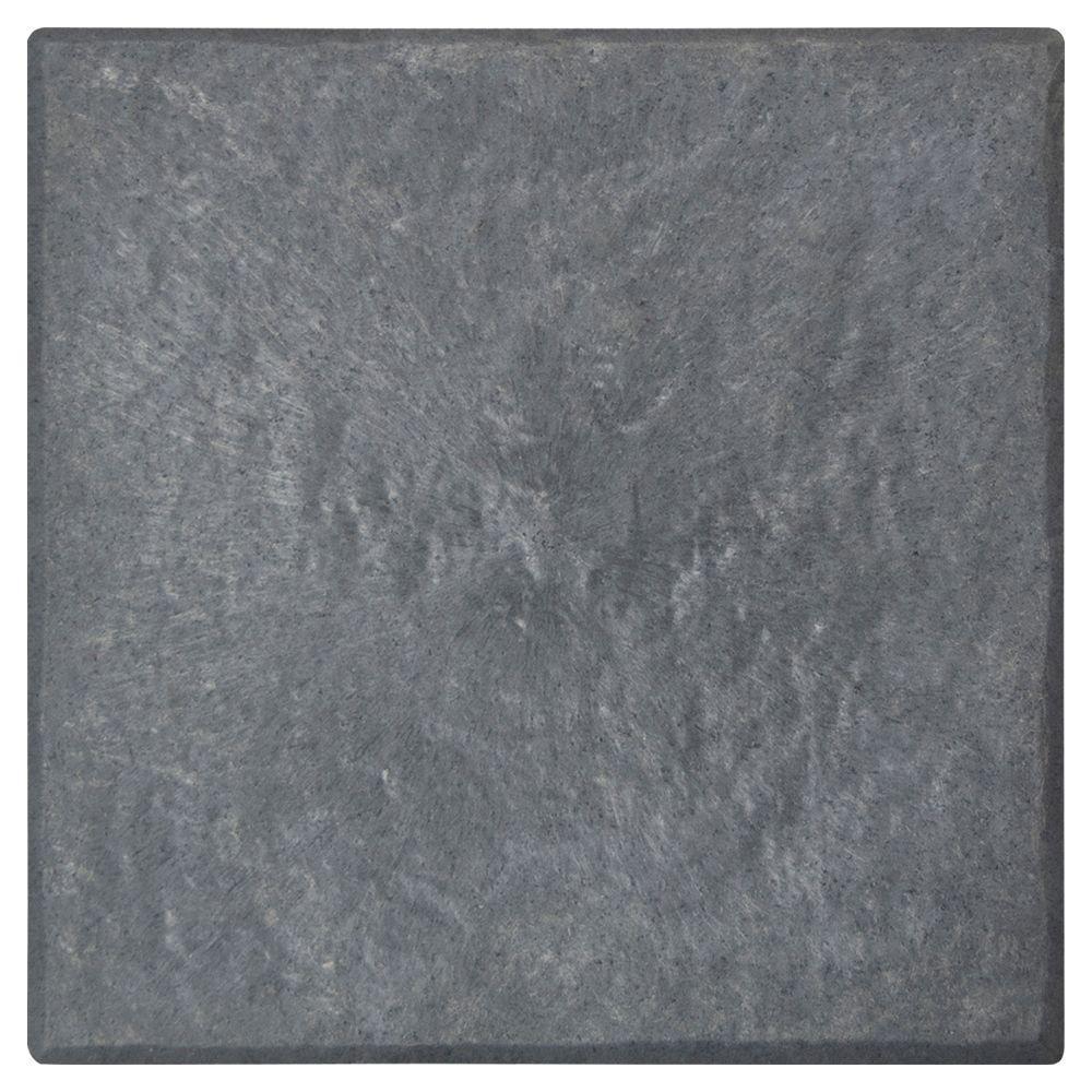 Multy Home Slate 12 in. x 12 in. Stomp Stone (4-Pack)