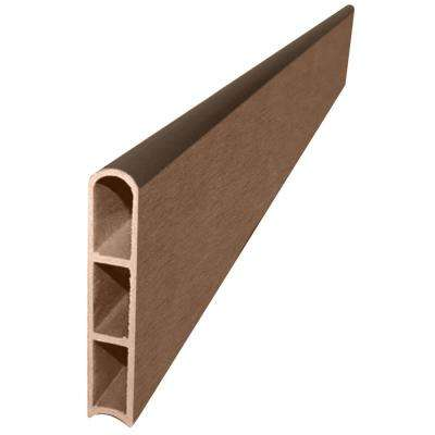 1 in. Series Uptown Brown Composite Straight Board