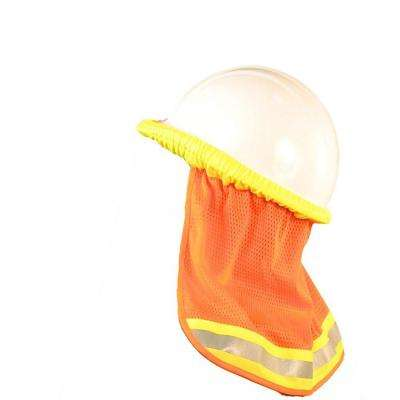 S268 Mesh Neck Shield in Hi-Viz Orange