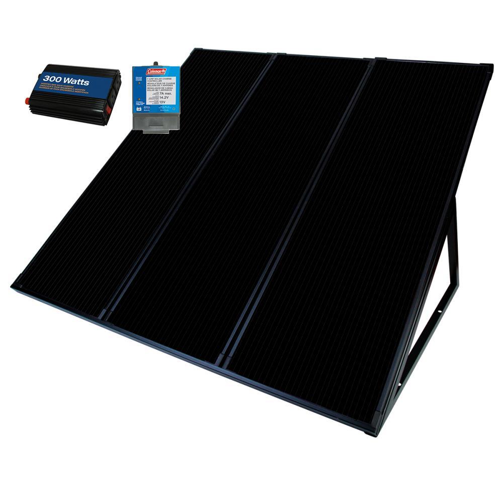 55-Watt 12-Volt Amorphous Solar Back Up Kit